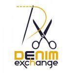 DenimExchange symbol + type logo
