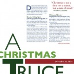 """Christmas Truce"" 1-page article (11"" x 8.5"")"
