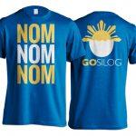 T-shirt mockup (Blue)